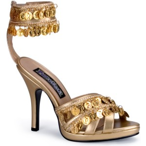 Gold Gypsy Shoes Adult - Gold / 10