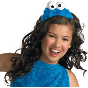 Sesame Street - Cookie Monster Adult Headband - Blue / One-Size