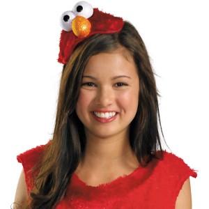 Sesame Street - Elmo Adult Headband - Red / One-Size