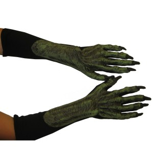 Witch Adult Hands - Green / One Size Fits Most Adults