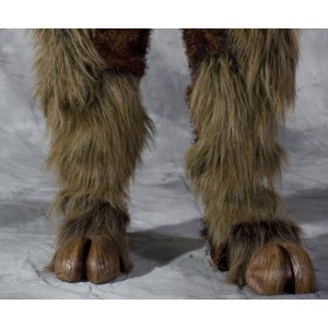 Beast Adult Hooves - Brown / One Size Fits Most Adults