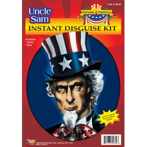 Heroes in History - Uncle Sam Accessory Kit Child - Black / One Size (12 and Up)