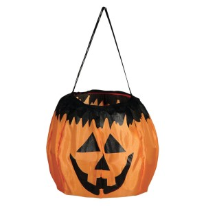 Collapsible Pumpkin Basket - Orange / One-Size