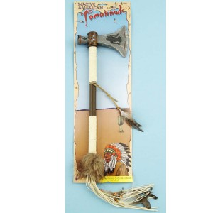 Western Authentic Tomahawk - Brown / One-Size