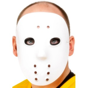 Hockey Mask Adult - White / One-Size