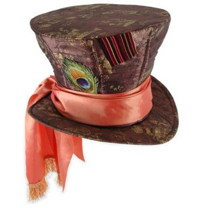 Alice in Wonderland Movie - Mad Hatter Hat Child - Multi-colored / One-Size