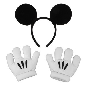 Mickey Mouse Accessory Kit Child - White / One-Size