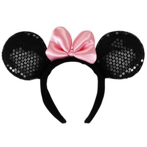 Disney Minnie Ears Deluxe Headband Child - Black / One-Size