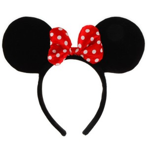 Disney Minnie Ears Headband Child - Black / One-Size
