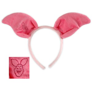 Winnie the Pooh Piglet Ears Child - Pink / One-Size