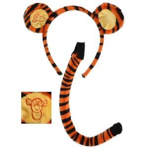 Winnie the Pooh - Tigger Accessory Kit Child - Orange / One-Size