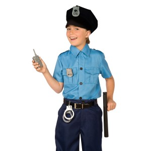 Police Officer Accessory Kit Child - Black / One Size