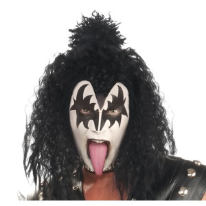 KISS Deluxe Demon Wig Adult