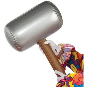 Inflatable Mallet - Gray / One-Size