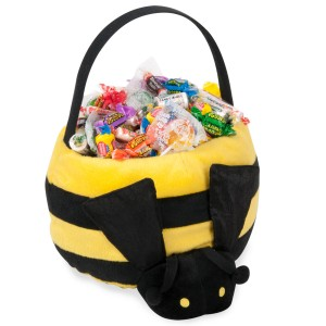 Bumblebee Plush Basket - Yellow / One-Size