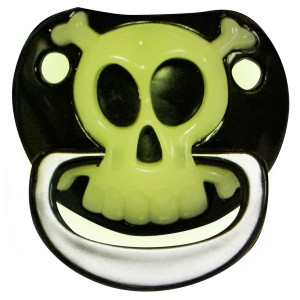 Pirate InfantToddler Pacifier - Green / One-Size