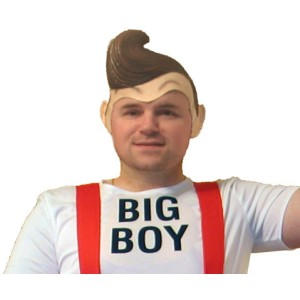 Big Boy Deluxe Latex Adult Wig