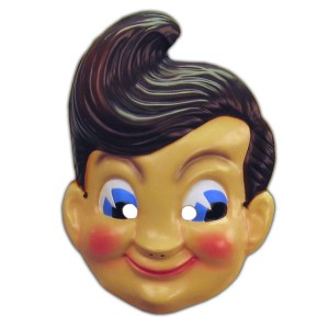 Big Boy Plastic Adult Mask
