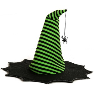 Spiderina Child Hat - Black/Green / One Size Fits Most Kids