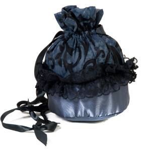 Midnight Bride Purse - Black / One-Size