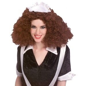 Rocky Horror Picture Show-Magenta Wig - Black / One Size