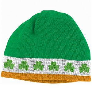 St. Pat's Knit Cap - Green / One-Size