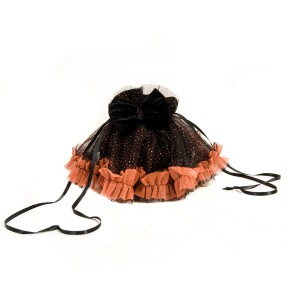 Black and Orange Treat Bag - Black / One-Size