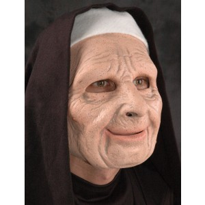 Nun on the Run Adult Mask - Black / One-Size