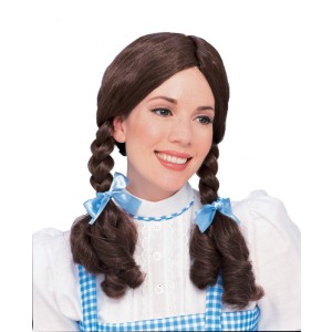 The Wizard of Oz Dorothy Wig - Brown / One Size