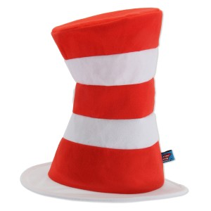 Dr. Seuss The Cat in the Hat - Hat Adult - Black / One-Size