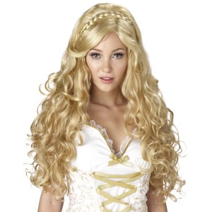 Mythic Goddess Adult Wig - Yellow / One-Size