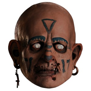 Pirates Of The Caribbean - Quartermaster Deluxe Vinyl Mask Adult