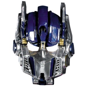 Transformers 3 Dark Of The Moon Movie - Optimus Prime Vacuform Mask Adult