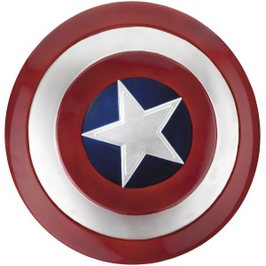 Captain America Movie Shield Adult - Blue / One-Size