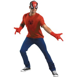 Spider-Man Accessory Kit Adult - Red / One-Size