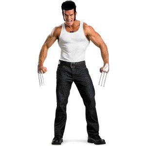 X-Men - Wolverine Accessory Kit Adult - Gray / One-Size