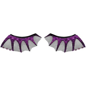 Bat Wing Eyelashes Adult - Black / One-Size