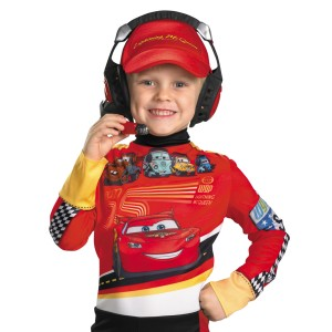 Cars 2 - Headset Child - Black / One-Size