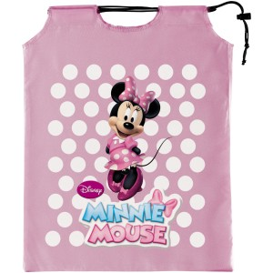 Mickey Mouse Clubhouse - Pink Minnie Mouse Drawstring Treat Sack - Pink / One-Size
