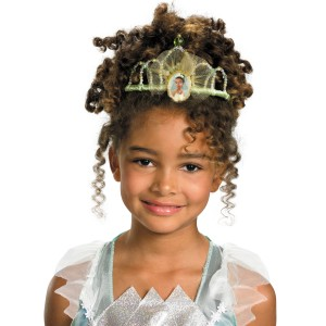 Disney Princess - Princess Tiana Tiara Child - Green / One-Size