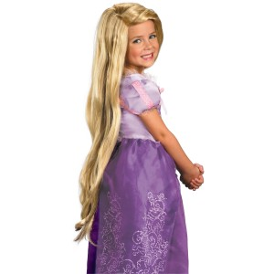 Tangled - Rapunzel Wig Child - Yellow / One-Size