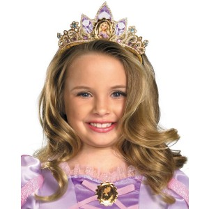 Tangled - Rapunzel Tiara Child - Gold / One-Size