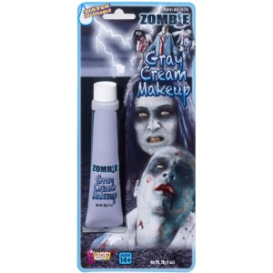 Zombie Grey Makeup Tube - Gray / 1 oz.