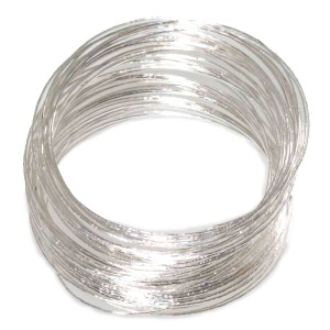 Silver Bangle Bracelets Adult - Silver / One-Size