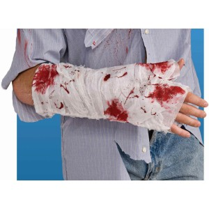 Bloody Arm Bandage Adult