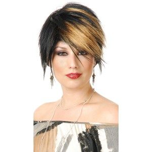 The Scenester Wig Adult - Black / One-Size