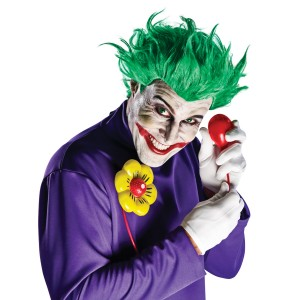 Arkham Asylum - Joker Accessory Kit Adult - Red / One-Size