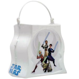 Star Wars The Clone Wars - Trick-or-Treat Pail - White / One-Size