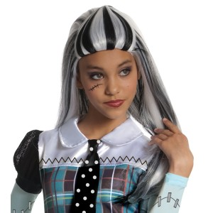 Monster High - Frankie Stein Wig Child - Black / One-Size
