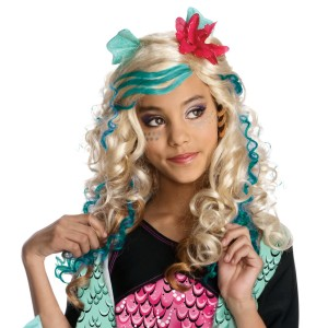 Monster High - Lagoona Blue Wig Child - Yellow / One-Size